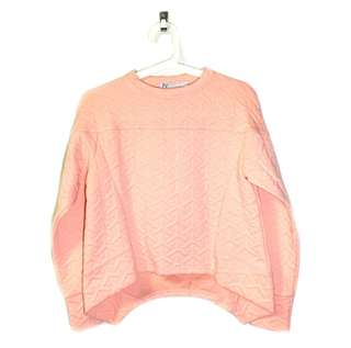 Coral Pullover crop sweater