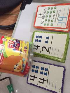Educational cards and magnets