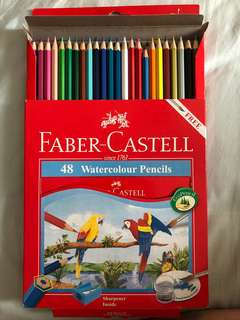 Faber-Castell 48 Watercolour Pencils