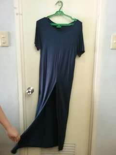 Long Dress with front slit