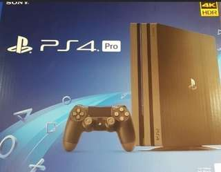 PS4 Pro 1TB with your ps4 trade in upgrading