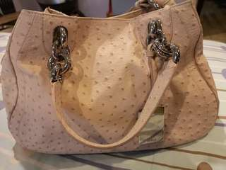 Pre Loved original Ostrich Furla