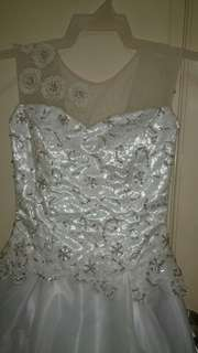 Preloved wedding gown RE-PRICED