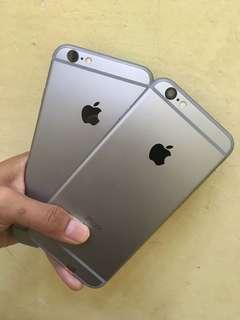 iphone 6s 16gb grey mulus fullset ex internasional