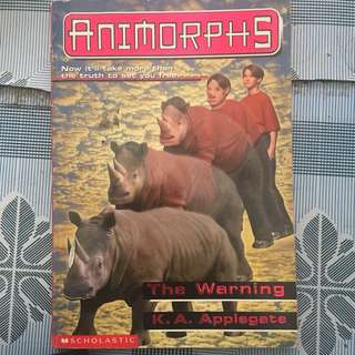 Animorphs The Warning By K.A Applegate