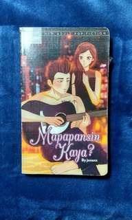 Wattpad books (mapapansin kaya?)