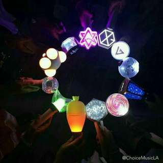 KPOP LIGHTSTICK (Gfriend, Wanna One, Bigbang, Winner, Ikon, Pentagon, Highlight, Twice, Got7,Apink,Btob