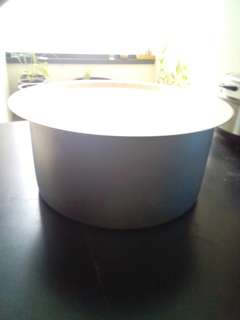 Stainless steel container - 38cm