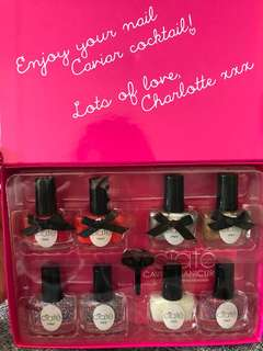 Ciate- Nail Caviar & Polish mini bar