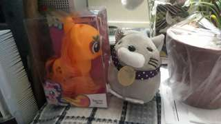 My Little Pony Orange with Mouse stuff toy