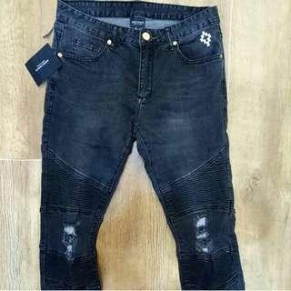 Marcelo burlon bikers jeans
