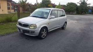 Perodua Kelisa 1.0 auto 2002