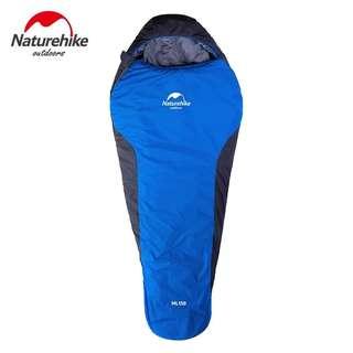 全新 New Nature Hike Sleeping Bag (Blue)  藍色木乃伊睡袋
