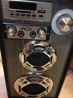 Portable Karaoke Box With Microphone