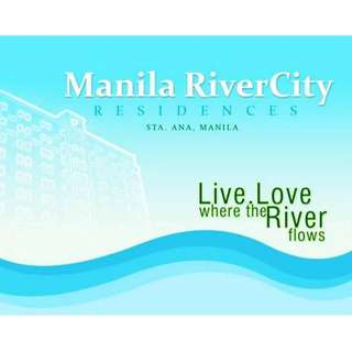 CONDO FOR RENT/SALE in Rivergreen Residences Santa Ana Manila AND Manila River City 11K near Makati Circuit