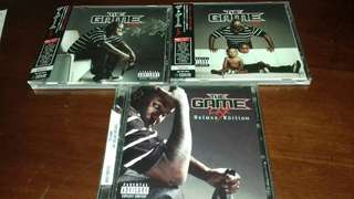 The Game LAX CD Original USA and Japan pressing different Cover Limited Edition Used Japan Promo , Rap Ice Cube , Raekwon, Nas
