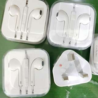 Hedset Earphone Earpod Iphone+Oppo. Kepala Casan Kaki 3