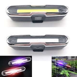 Goofy USB rechargeable light / Dual color / Front headlight / Rear flashing light/Scooter