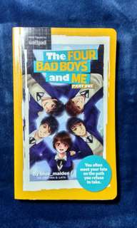 Wattpad book (The four badboy's and me)