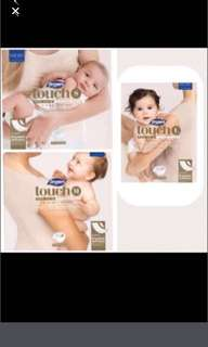FLASHSALE: Drypers Touch Tape Diapers