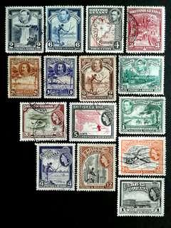 British Guiana stamps