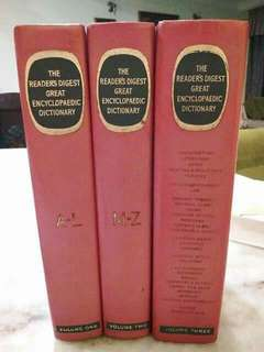 The Reader's Digest Great Encyclopaedic Dictionary