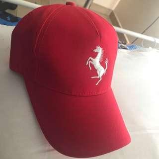 Ferrari Red Cap! Brand New condition Selling Cheap