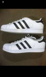Adidas Superstar Shoes US9 (VERY GOOD CONDITION)
