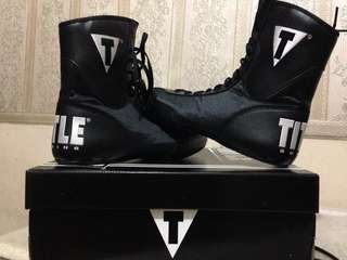Title Boxing Shoes