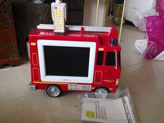 Hannspree 10 inch firetruck TV