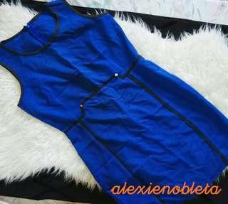 Blue Corporate Dress