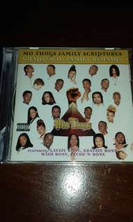 Bone thugs N Harmony Mo Thugs Family Scripture Chapter II Family Reunion Original USA pressing CD sealed, Rap Krayzie, Flesh N Bone , Layzie, Poetic Hustlaz, Thug queen .