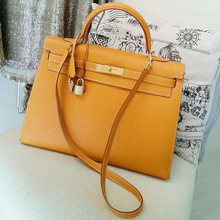 Hermes Sellier Kelly 35cm