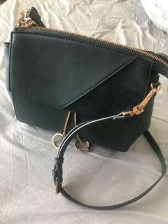 Charles & keith Green Handbag
