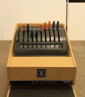 70's Antique Check Printing Machine