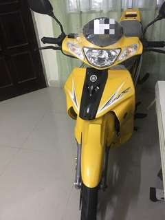 Yamaha 125 zr (yellow