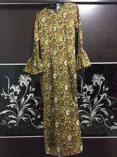 Batik mermaid dress afrilia closet