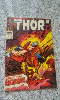 Thor 157 Silver Age Marvel Comic