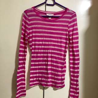 Forever 21 Striped Sweatshirt