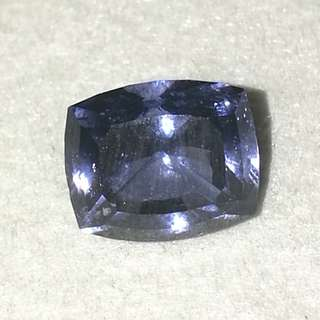 Natural Srilankan Violetish Blue Spinel. Certificated. No Price bargain. View and Deal. If you are serious.
