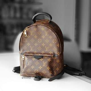 Authentic Louis Vuitton Monogram Palm Springs Backpack PM LV