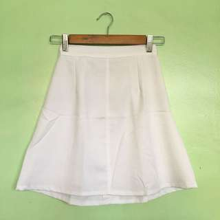 White Short Skirt