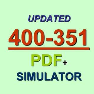 Cisco CCIE Wireless Exam 400-351 Test QA PDF+Simulator