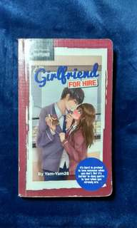 Wattpad book (girlfriend for hire)