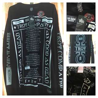 TROY COMPANY LONG SLEEVE BLACK ORIGINAL