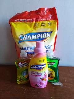 Detergent Powder   Dishwashing Liquid   Fabcon