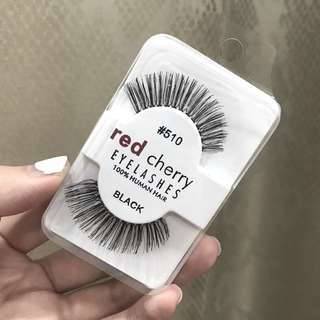 Red Cherry false lashes #510