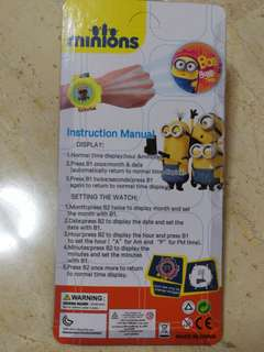 Minions Projection Watch