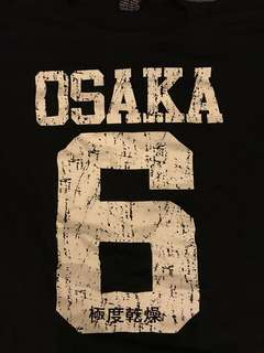 Osaka tee graphic size M fits S more