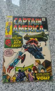 Captain America 129 silver age marvel comic